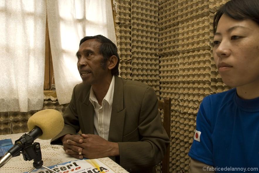 Un reportage pour l'ONG JICA sur la promotion et diffusion d'une radio locale