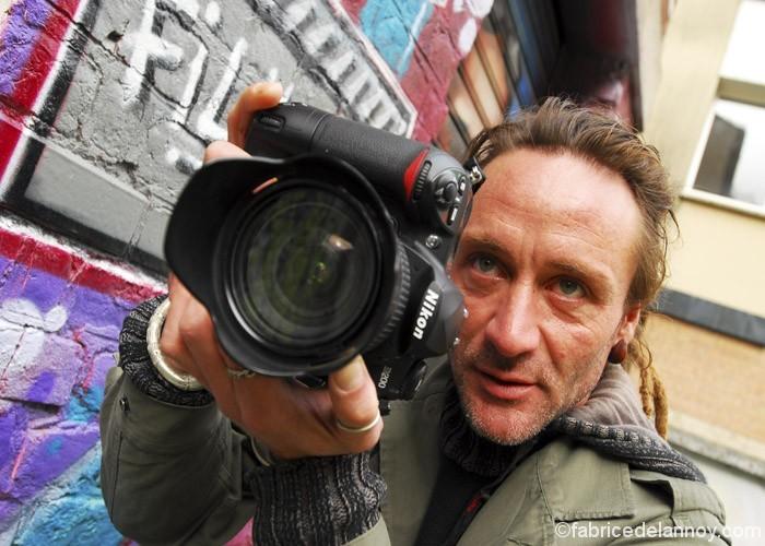 Le photographe Fabrice Delannoy à Madagascar